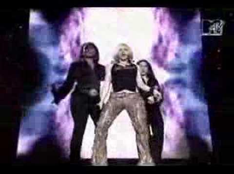 madonna music live mtv 2000