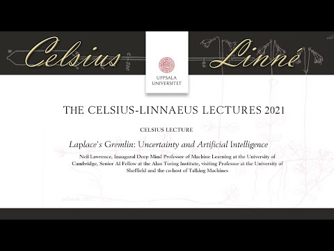 Celsius Lecturer 2021: Laplace's Gremlin: Uncertainty and Artificial Intelligence