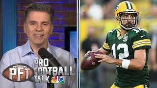 PFT Overtime: Impact of PI replay, Aaron Rodgers on practice | Pro Football Talk | NBC Sports