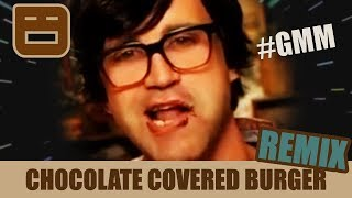 GMM CHOCOLATE COVERED BURGER REMIX | RAFEEO
