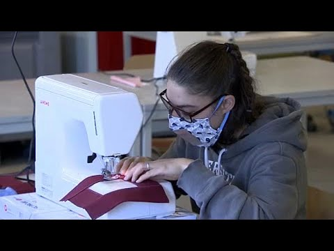 Coronavirus: Transparent face masks help Belgian business see through crisis
