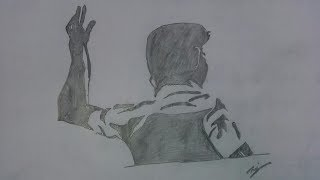How To Draw Tamil Hero Vijay Drawing For Kids