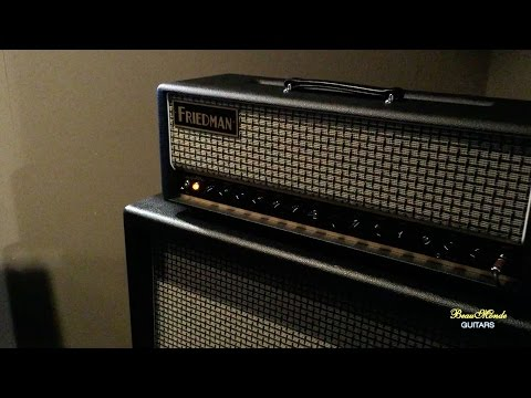 Friedman Amplifiers Booth - NAMM 2016