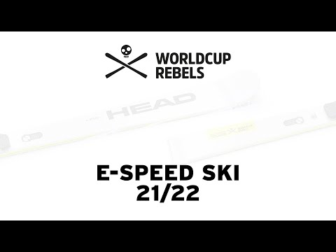 WorldCup Rebels E-Speed ski with Freeflex ST binding