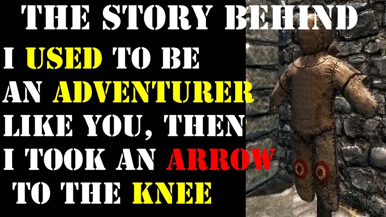 """The Story Behind """"I Used To Be An Adventurer Like"""