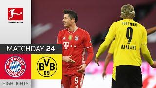 FC Bayern München - Borussia Dortmund | 4-2 | Highlights | Matchday 24 – Bundesliga 2020/21