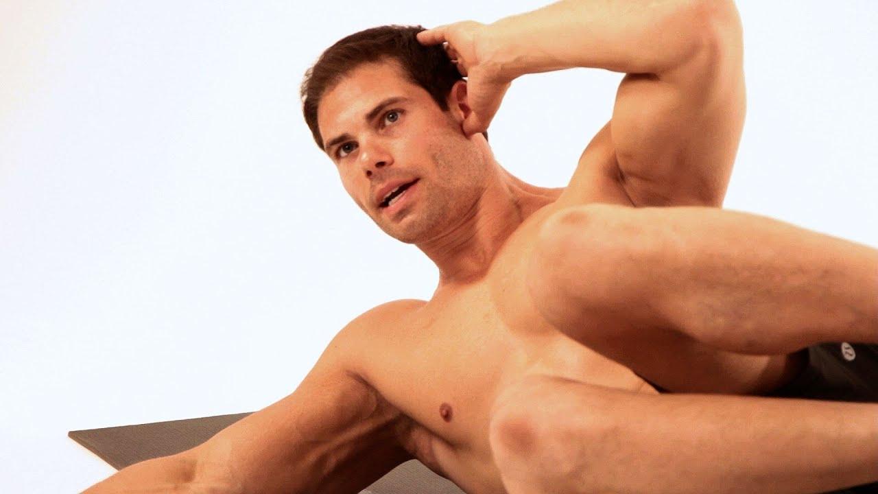 How to Do an Oblique V Up | Ab Workout - YouTube Oblique Exercises Men