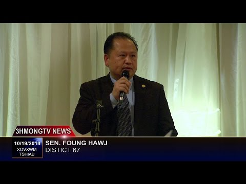 Sen. Foung Hawj 2014 Hmong American Civic Engagement Rally