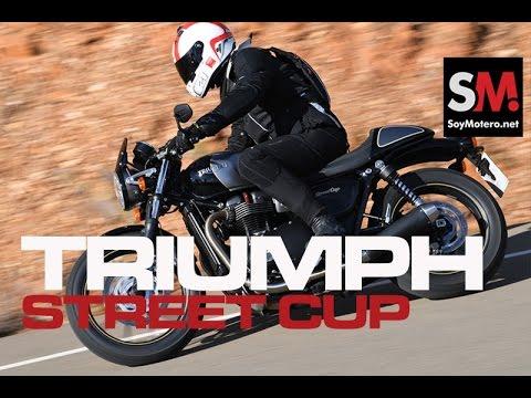 Triumph Street Cup 2017: Prueba Moto Neoclásica [FULLHD]