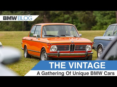 The Vintage - The Event Where You Can See Some Rare BMWs