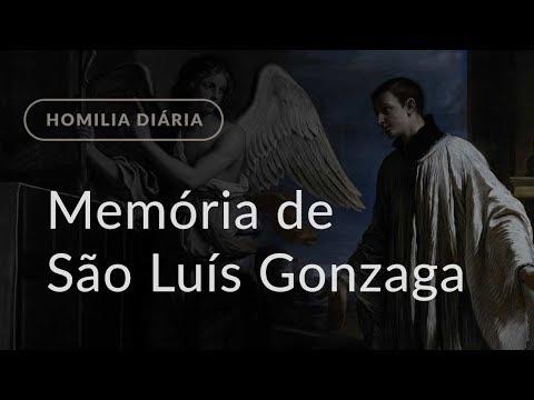 Memória de São Luís Gonzaga (Homilia Diária.1192)