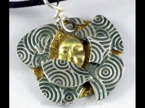 Fine SIlver Jewelry by Sacred Jewelry & Yoga Designs