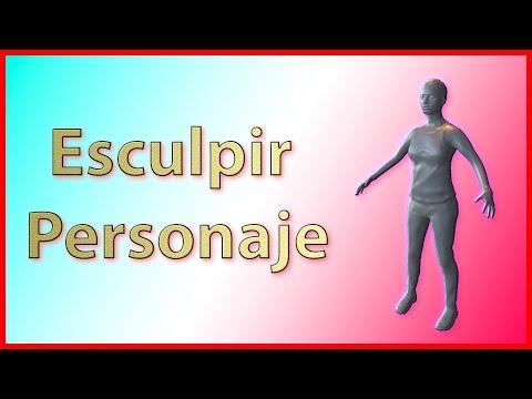 🗿Blender 2.8 Sculpting -Tutorial Español