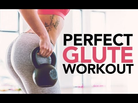 Perfect Glutes Workout (5 KETTLEBELL BOOTY MOVES!!)