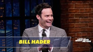 Bill Hader Reveals How Fred Armisen Pranked Seth Meyers and Colin Jost on SNL