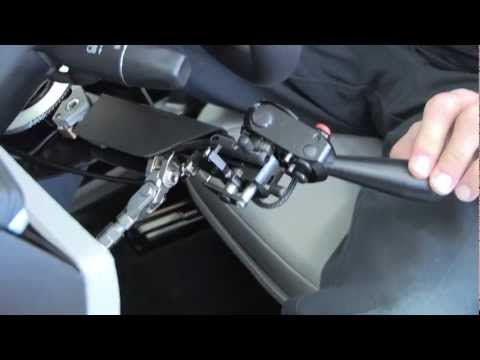 Driving the 2013 Tesla with Hand Controls Demo Video