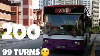 (SBST) 99 Turns Volvo B10M Mark 4 DM3500 - SBS2832D - Service 200
