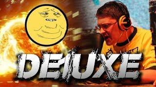 De1uxe [ex. NaVi] сильно бомбит в WoT и PUBG!