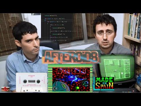 Covacha del Amstrad 01 - Afteroids