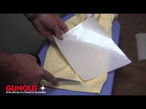 Using Heat 'n Seal to Repair Holes in a Garment