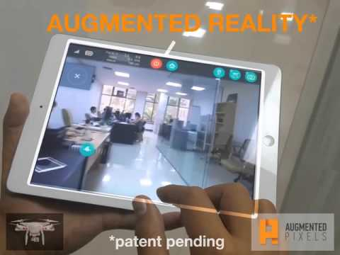 Augmented Reality & Drones: decrease indoor crashes with SLAM