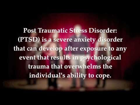 PTSD - Post Traumatic Stress Disorder - Student Nurse Video Project