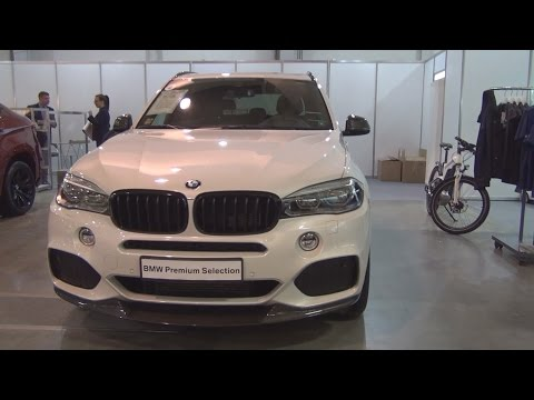 BMW X5 xDrive 40d M Sport 6+1 (2016) Exterior and Interior in 3D