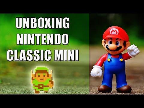 Unboxing Nintendo Classic Mini - Algeciras Gaming