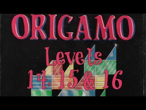 Origamo (1994) - PC - Levels 14, 15 & 16 - Basic Mode