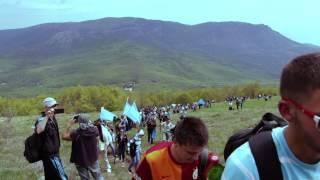 Крымские татары покорили Чатыр-Даг