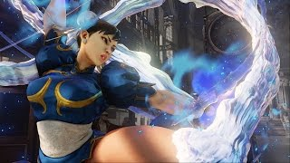Street Fighter 5 - Chun Li vs Bison Full Match in 60 FPS