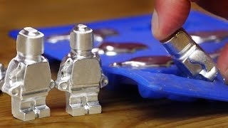 DIY Metal Lego-Style Figures using Gallium