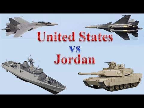 United States vs Jordan Military Power 2017