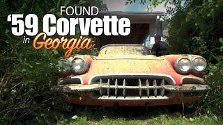 FOUND: 59' CORVETTE in Georgia