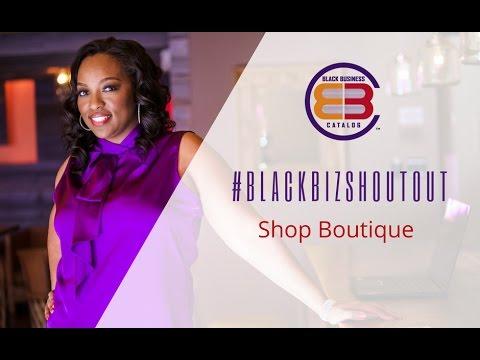 Black Business Holiday Catalog #BlackBizShoutout - Shop Boutique