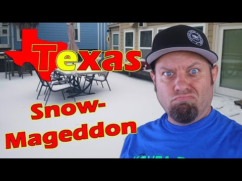 Texas Snowmageddon!  Texas Winter Storm 2021 Lessons Learned for Prepping and Comms