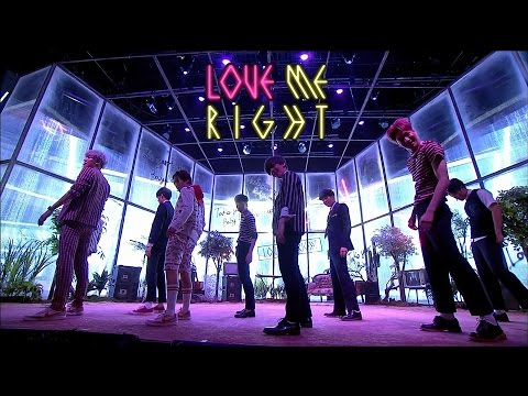 EXO(엑소) - LOVE ME RIGHT 교차편집 / Stage Mix