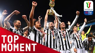 Juventus lift 2021 Coppa Italia Trophy!   FULL CELEBRATIONS & POST MATCH   TIMVISION CUP