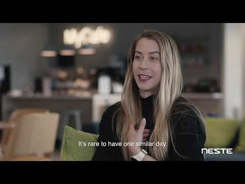 Watch the video and find out how our people explain #NesteLife (working life at Neste) and why you should join us!   Find more details about career at Neste here: https://bit.ly/2FKUdtK