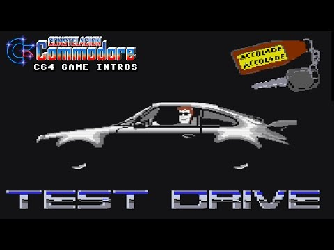 C64 Game Intro: Test Drive (Accolade,1987)
