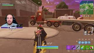 ThatGuyBarney! TRAVEL ENTIRE MAP WITHOUT TOUCHING THE GROUND! Fortnite HOW TO