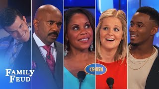 ALL-TIME GREATEST MOMENTS in Family Feud history!!! | Part 5 | More FUNNIEST Answers!