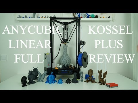 video ANYCUBIC Kossel Linear Plus 3D Printer (Kit)