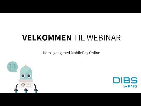 Kom i gang med MobilePay Online