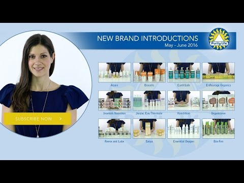 Purity Life New Brand Introductions - May - June 2016