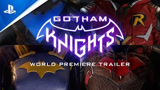 Gotham Knights - World Premiere Trailer | PS4, PS5