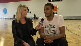 McDonald's All American Game: Five-star Josiah James Interview