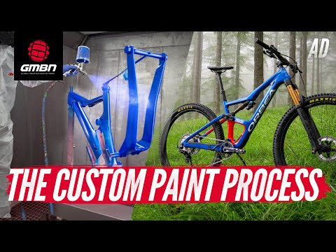 How Are Custom Painted Mountain Bikes Made"