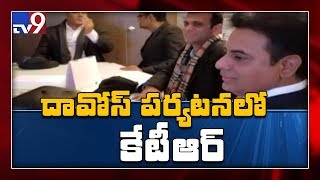 Minister KTR visits Davos, Meet NRI officials..