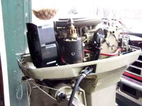 1977 evinrude 55hp outboard runs youtube. Black Bedroom Furniture Sets. Home Design Ideas